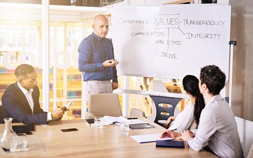 Como definir os valores de uma empresa
